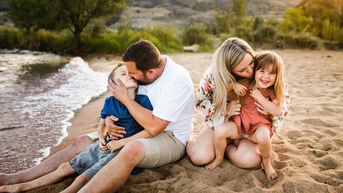 Spencer Family   Okanagan Beach Session