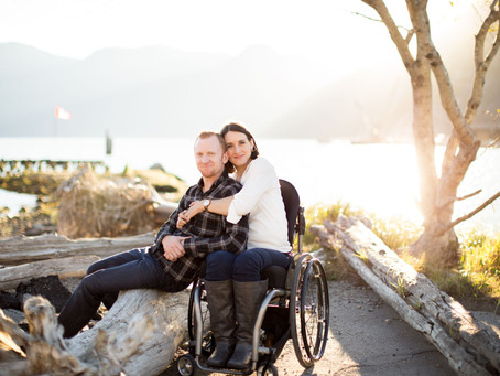 KRISTEN + BRANDON - NEXEN BEACH {SQUAMISH ENGAGEMENT PHOTOGRAPHER}