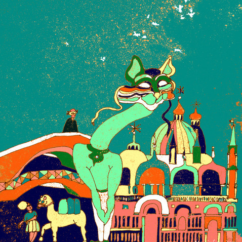 Fox was indeed delighted to be in Venice
