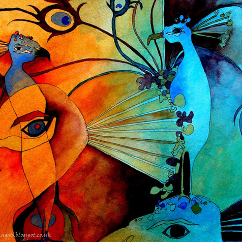 Peacock Blue Rachel Amey Edinburgh Fringe 2015