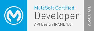 MuleSoft Certified Developer API Design (RAML 1.0) Associate