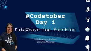 DataWeave log function | #Codetober 2021 Day 1