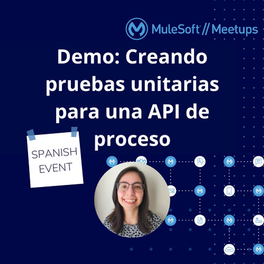 Demo: Creando pruebas unitarias para una API de proceso