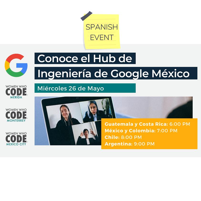 Conoce el HUB de Ingeniería Google México