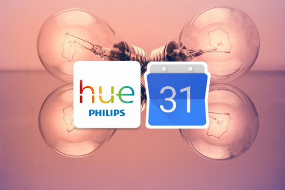 How to connect your Philips Hue Smart Lights with Google Calendar