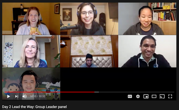Lead the Way: Group Leader panel