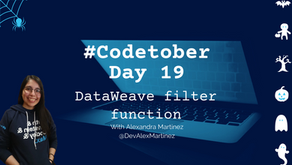 DataWeave filter function | #Codetober 2021 Day 19