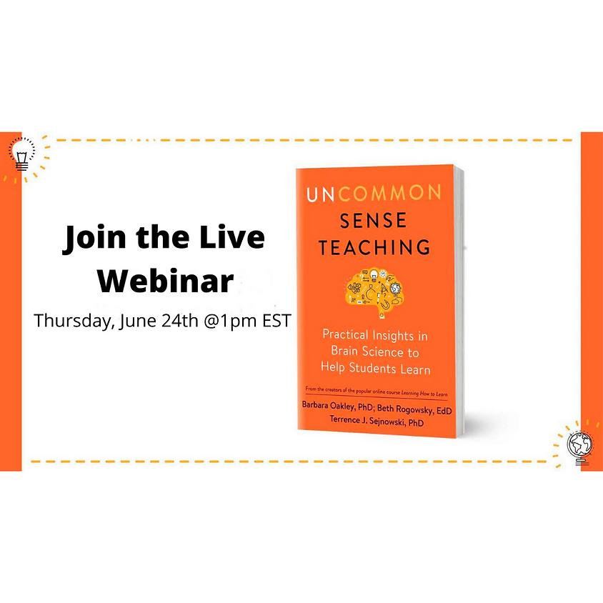 Uncommon Sense Teaching Live Webinar
