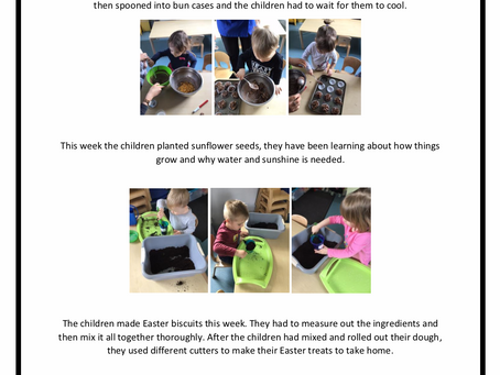 2-3's Room w/c 15th April 2019