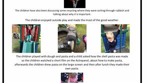 Pre School Room Blog Week Commencing – 10 June 2019