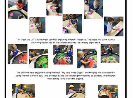 2-3's Room w/c 5th August  2019