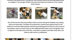 Baby Unit Blog - March - July 2020