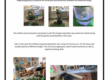 Pre-School Room w/c 27th May 2019