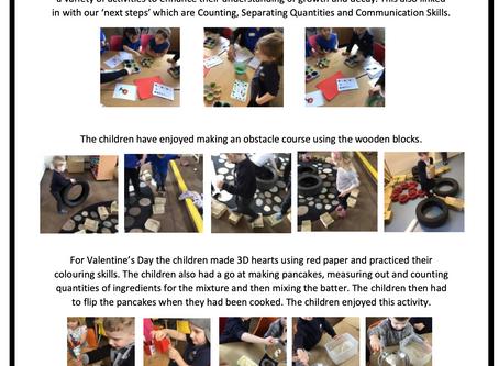 Pre-School Room Blog February 2020