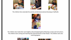 Pre-School w/c 18th March 2019