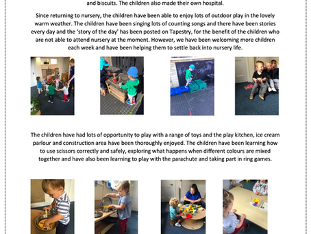 2-3's Room Blog March - July 2020