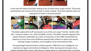 Baby Unit Blog  Week Commencing – 10th June 2019