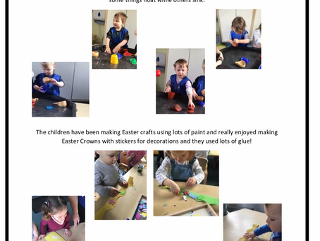 2-3's Room w/c 8th April 2019
