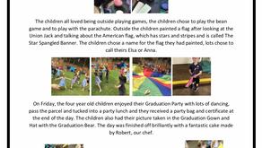 Pre-School Blog w/c 1st July 2019