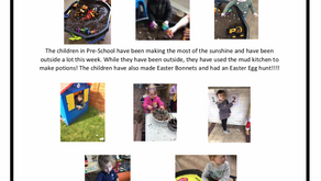Pre-School w/c 15th April 2019
