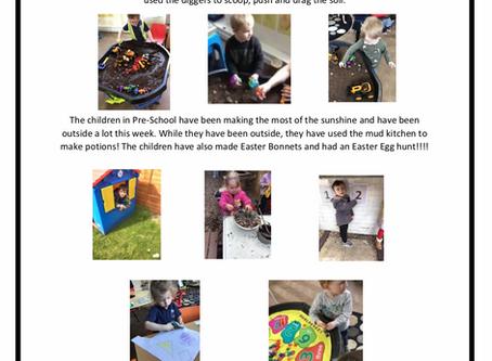 Pre-School w/c 15th April 2019