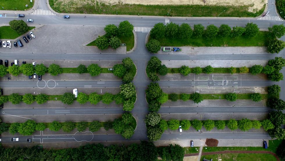 Aerial-parking