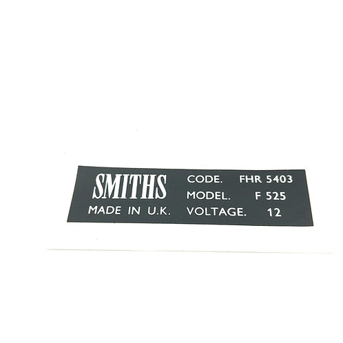 "Decal - Smith adhesive ""Caution"""