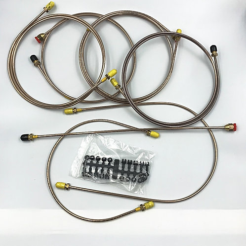 Brake Line Kit 68-74 Disc