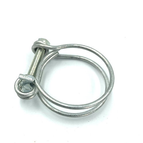 """Wire Hose Clamp - 1&1/4"""" to 1&7/16"""""""