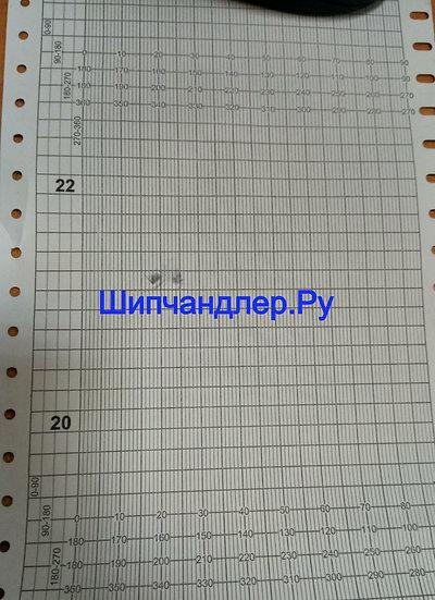 Бумага диаграммная для курсографа ТБ-1