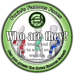Foxies Famous Faces logo.png