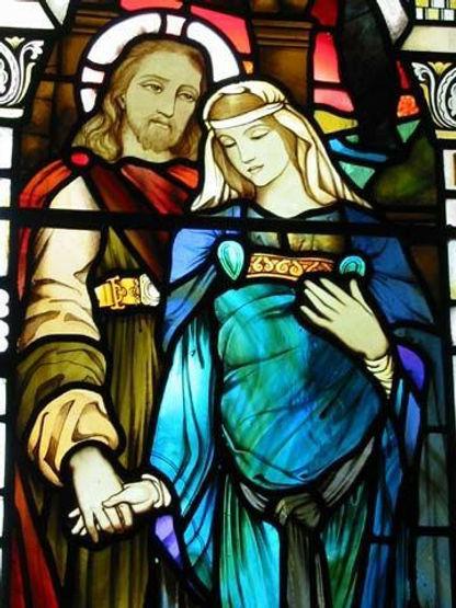 jesus et marie madeleine eglise de Kilmo