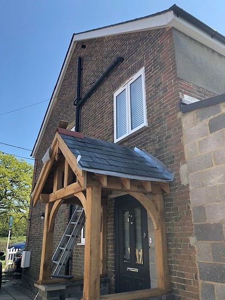 PORCH BEFORE RENDER AND PAINT