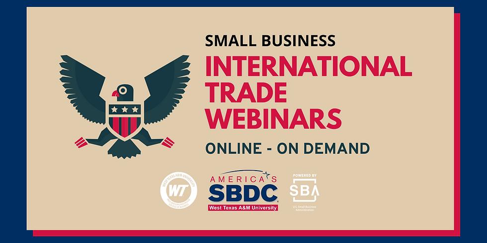 International Trade Series - On Demand