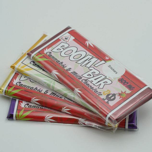 300mg boom! extracts chocolate bar