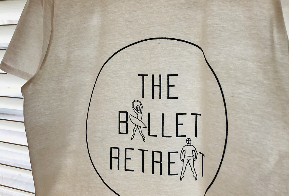 The Ballet Retreat Signature Logo T-Shirt