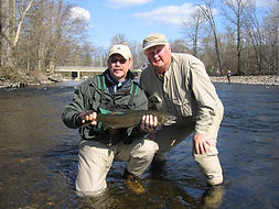 Carl Coleman Guiding on the Salmon River