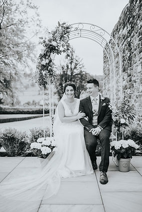 humanist wedding at Grassfield Hall by celebrant Rachael Meyer. Photo by Bright Sight Photography