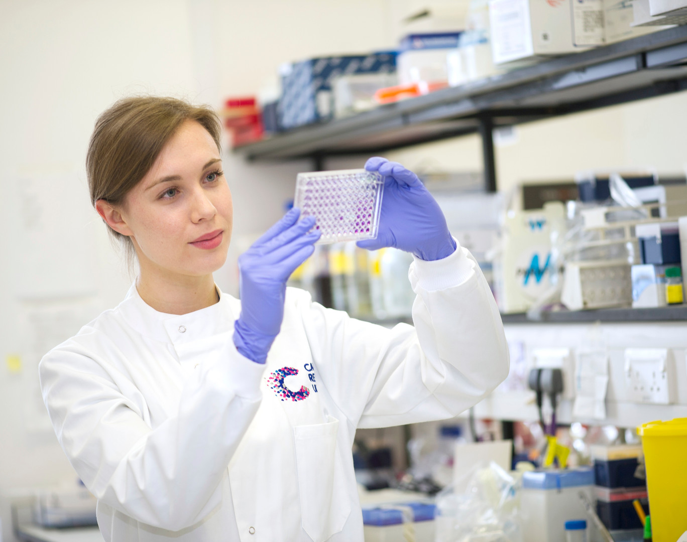 Cancer Research Lab PR Photography by Sirastudio. Photographers in Harrogate.