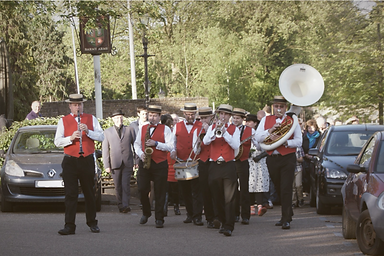 funeral band for a humanist funeral