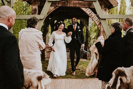 Jess and Jonny's wedding at Skipbridge Country Weddings. Photo by Ryan at Shuttergoclick