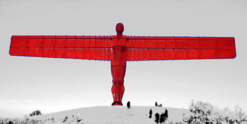 Angel Of the North Digital Wall Art by Sirastudio. Photographers in Harrogate.