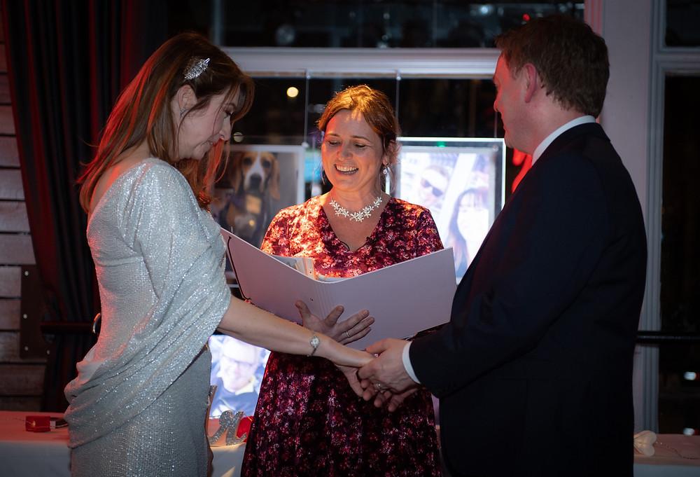Humanist wedding ceremony, Nation of Shopkeepers, Leeds