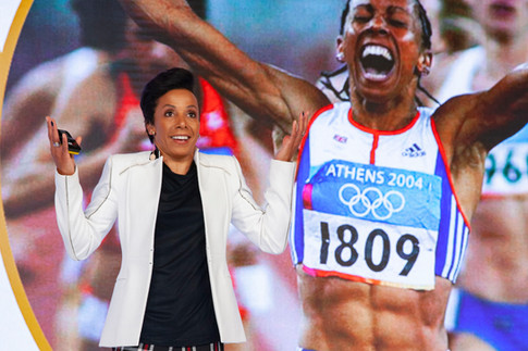 Dame Kelly Holmes. by Sirastudio. Photographers in Harrogate.
