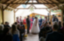 wedding celebrant at halewood castle lee