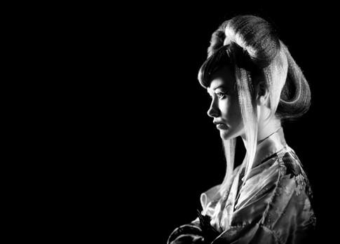 Alice, Japanese Hair and Make up Shoot by Sirastudio. Photographers in Harrogate.