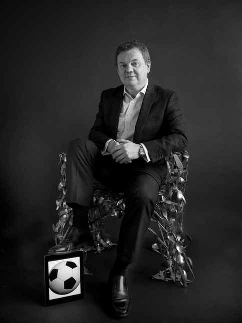 Kevin Lawless Business Portrait by Sirastudio. Photographers in Harrogate.