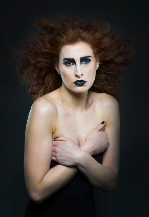 Lisa for Hair Shoot Portrait by Sirastudio. Photographers in Harrogate.