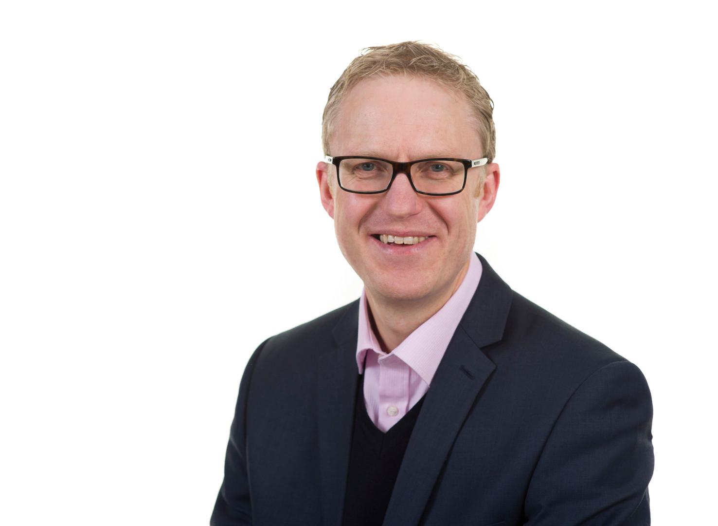 Mark Pamplin Corporate Portrait by Sirastudio. Photographers in Harrogate.