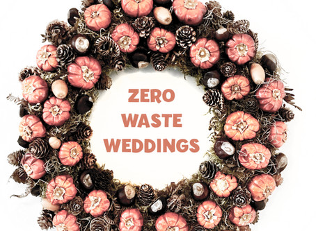 ZERO WASTE WEDDINGS